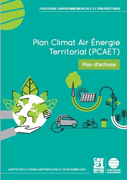 couverture du plan d'action PCAET