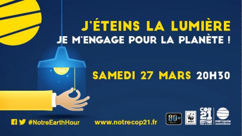 banniere Earth Hour